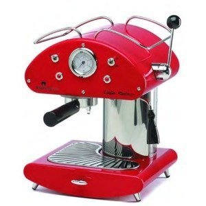 Espressione Cafe Retro Espresso Machine, Red