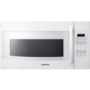 Samsung 30 in 1.8 cu. ft. Over the Range Microwave 1,100 Watts, 400 CFM - White