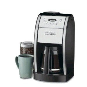 Cuisinart DGB-550BK Grind-and-Brew 12-Cup Automatic Coffeemaker, Black/Brushed Metal DGB%2D550BK