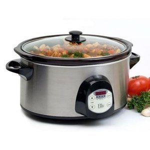 Maxi-Matic Elite Platinum 6-Quart Programmable Slow Cooker