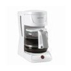 Black & Decker 12-Cup Drip Coffeemaker, White