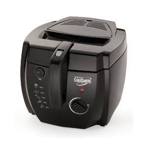 Presto CoolDaddy Cool Touch Electric Deep Fryer