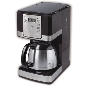 Mr. Coffee 8-Cup Thermal Coffeemaker, Black