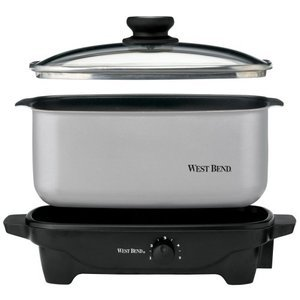 West Bend 5-Quart Oblong-Shaped Slow Cooker