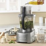 Cuisinart Elite Collection 14-Cup Food Processor, Black (Black,14 Cup) FP-14BK FP-14DC