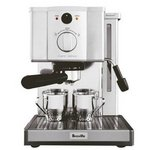 Breville Cafe Roma Stainless Espresso Maker BRE