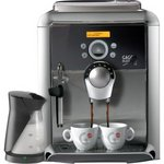 Gaggia Platinum Swing Automatic Espresso Machine with Milk Island, Silver and Black
