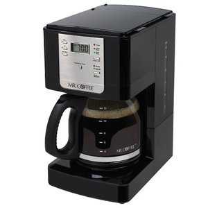 Mr. Coffee 12-Cup Programmable Coffeemaker, Black