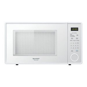 Sharp White Countertop Microwave