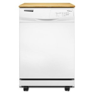 Whirlpool 24 In. White Tall Tub Portable Dishwasher - DP1040XTXQ