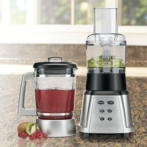 Cuisinart SmartPower Premier Duet Blender/Food Processor, Stainless Steel CB-600FPPC4