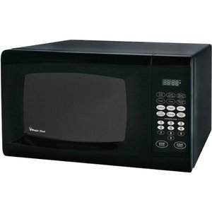 Magic Chef 0.9 Cubic Feet 900-Watt Microwave with Digital Touch
