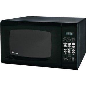 Magic Chef 0.9 Cubic Feet 900-Watt Microwave with Digital Touch