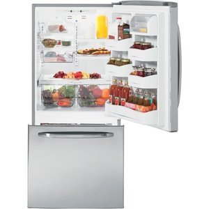 GE Bottom-Freezer Refrigerator