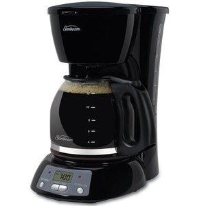Sunbeam 12-Cup Programmable Coffeemaker, Black