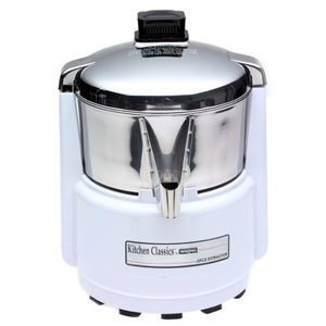 Waring Juice Extractor, Quite White and Stainless Steel