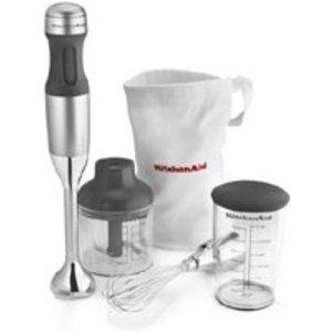 KitchenAid 3-speed Immersion Blender, Contour Silver KHB2351CU
