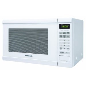 Panasonic Genius 1.2 cuft 1200-Watt Sensor Microwave with Inverter Technology, White NN-SN651W NN-SN651B