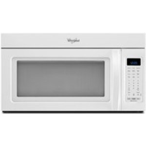 Whirlpool White Microwave Hood Combination