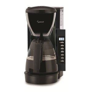 Capresso CM200 10-Cup Programmable Coffee Maker, Black 47601