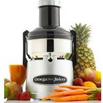 Omega Commercial 350-Watt Stainless-Steel Pulp-Ejection Juicer