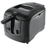 Oster 3-Liter Cool Touch Deep Fryer, Black