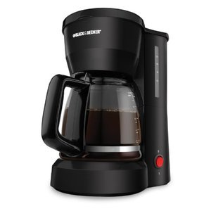 Black & Decker 5-Cup Coffeemaker, Black DCM675BMT