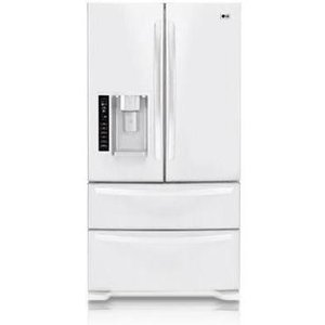 LG 24.7 cu. ft. French Door Bottom-Freezer Refrigerator LMX25981SW