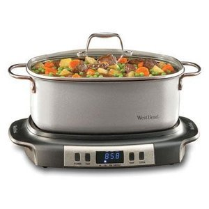 West Bend 6 Qt. Versatility Slow Cook 072244849660