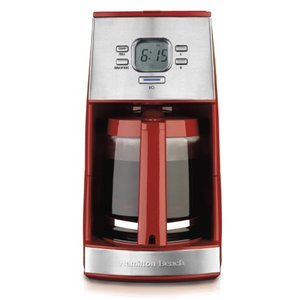 Hamilton Beach Ensemble 12-Cup Coffeemaker with Glass Carafe,