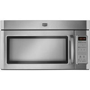 Maytag 2.0 cu. ft. 1100 Watt Combination Range Hood Microwave - Stainless Steel