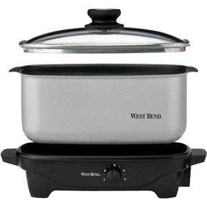 West Bend Qt. Oblong Slow Cooker