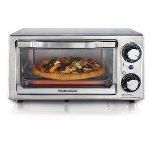 Hamilton Beach 4-Slice Toaster Oven/Broiler