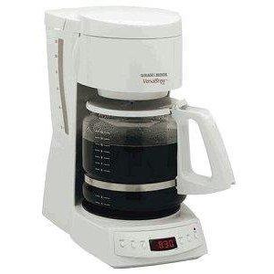 Black & Decker 12-Cup Programmable Coffee Maker-Black
