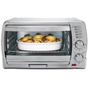 Oster 6 Slice Large Capacity Toaster Oven Tssttvskbt