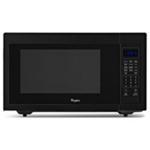 Whirlpool 1.6 cu. ft. Black Countertop Microwave