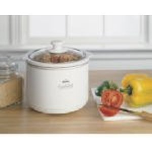 Sunbeam Products Inc 1.5Qt Wht Slow Cooker Slow Cookers