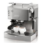 DeLonghi 15-Bar-Pump Espresso Maker, Stainless