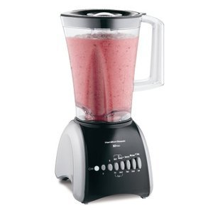 Hamilton Beach Stay or Go 10-Speed Blender, Black 50639R