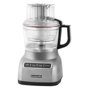 KitchenAid Food Processor With Mini-Bowl - Cup - Silver