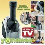 Yonanas Deluxe Ice Cream Treat Maker, Black/Silver 750071