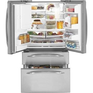 French door bottom freezer refrigerator