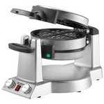 Waring Belgian Waffle & Omelet Maker, Brushed Stainless Steel