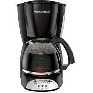 Hamilton Beach Programable Disc 12 Cup Coffee Maker