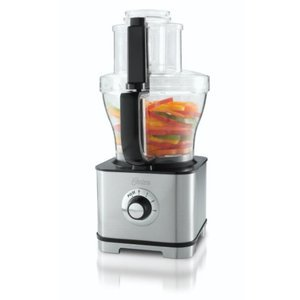 Oster 14-Cup Food Processor with 5-Cup Mini Chopper, Stainless Steel