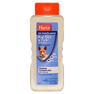 Hartz UltraGuard Rid Flea & Tick Shampoo with Oatmeal