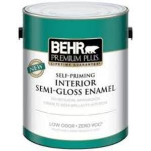 Behr Premium Plus Interior Semi-Gloss Enamel