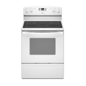 Amana 4.8 cu. ft. Self-Cleaning Electric Range, , White