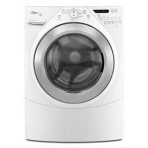Whirlpool : 4.4 cu. ft. Front Load Steam Washer - White