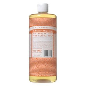 Dr. Bronner's Pure Castile Liquid Soap - Tea Tree